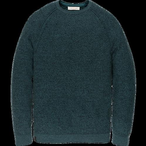 Cast Iron | R-Neck Cotton Knit CKW206330-5247