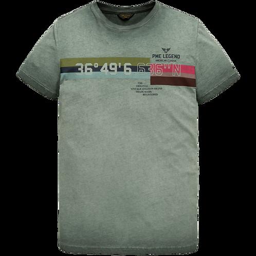 PME Legend | Single Jersey Short Sleeve T-Shirt PTSS205532-6026