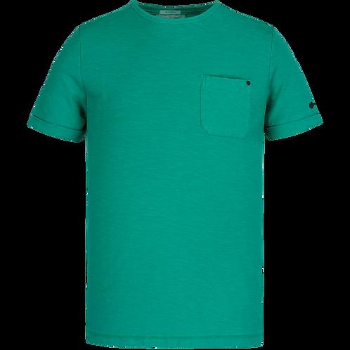 Cast Iron | R-Neck Garment Dyed SlubT-Shirt CTSS211551 - 6050