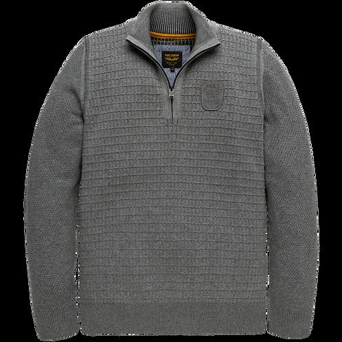PME Legend | Cotton Half Zip Knit PKW207300-941