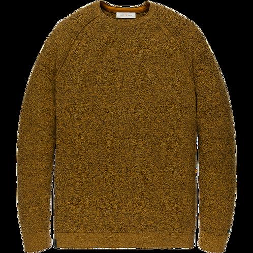 Cast Iron | R-Neck Cotton Knit CKW206330-9124