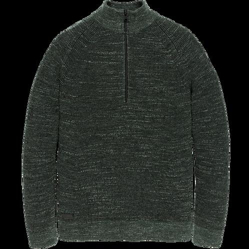 Cast Iron | Half Zip Cotton Knit CKW206327-6147