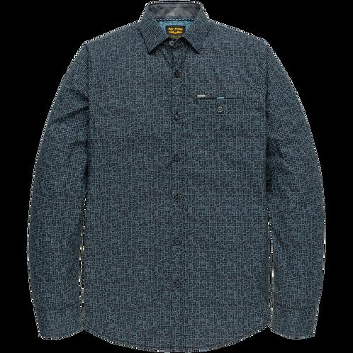 PME Legend   Poplin Print Shirt PSI205222-5288
