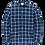 Thumbnail: Cast Iron | Long Sleeve Shirt CTN YD Check CSI205600 - 5089