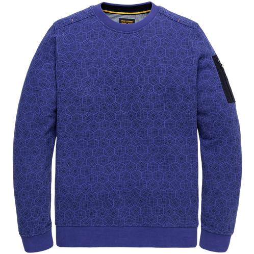 PME Legend | All Over Printed Crewneck PSW206412-5023