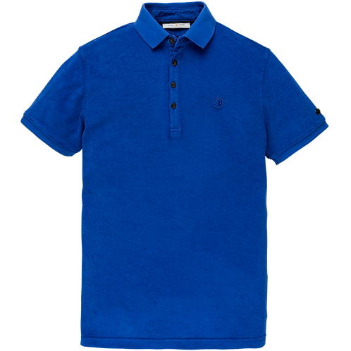 Cast Iron | Short Sleeve Polo Toweling Jersey CPSS205604 - 5089