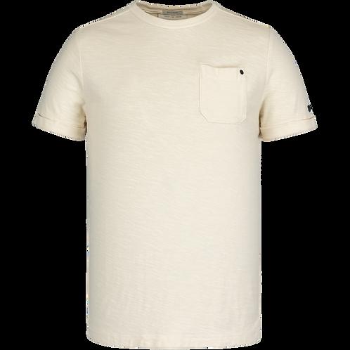 Cast Iron | R-Neck Garment Dyed SlubT-Shirt CTSS211551 - 7155