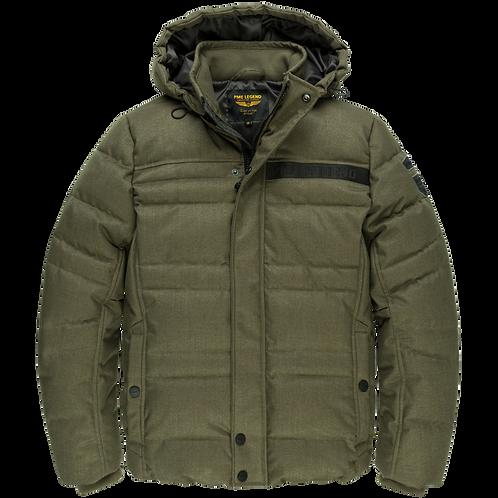 PME Legend | Hooded Jacket Melange Twill Liftmaster PJA205106 - 6409