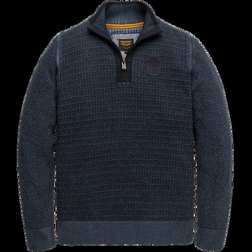 PME Legend | Cotton Half Zip Knit PKW207300-5288