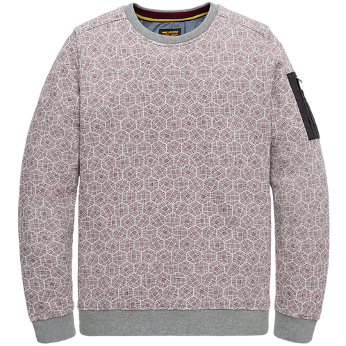 PME Legend | All Over Printed Crewneck PSW206412-921