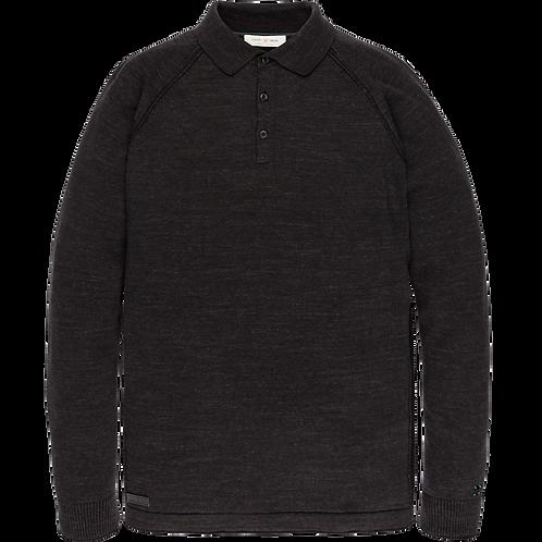 Cast Iron | Long Sleeve Polo CPS206851-9124