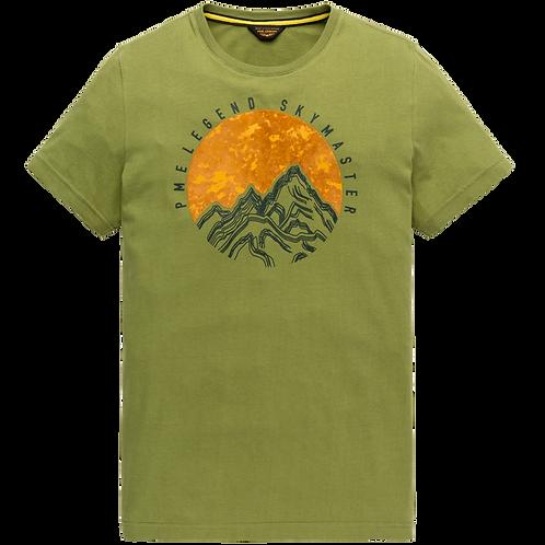 PME Legend | Peach Jersey T-Shirt PTSS207521-6372