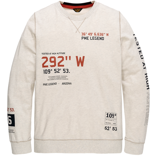 PME Legend | Light Terry Long-Sleeved Sweater PLS205507-910