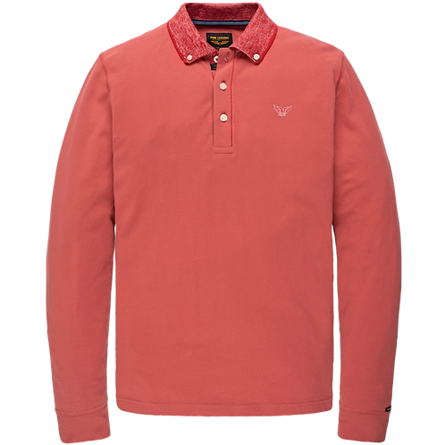 PME Legend   Rugged Pique Long Sleeve Polo PPS208819-3171