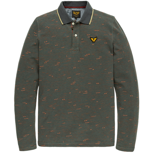 PME Legend | Long Sleeve Space Dye Pique Polo PPS205802-6026