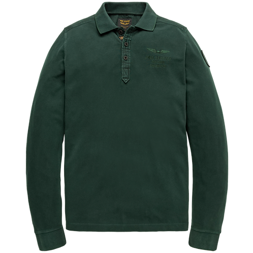 PME Legend   Rugged Pique Long Sleeve Polo PPS207816-6429