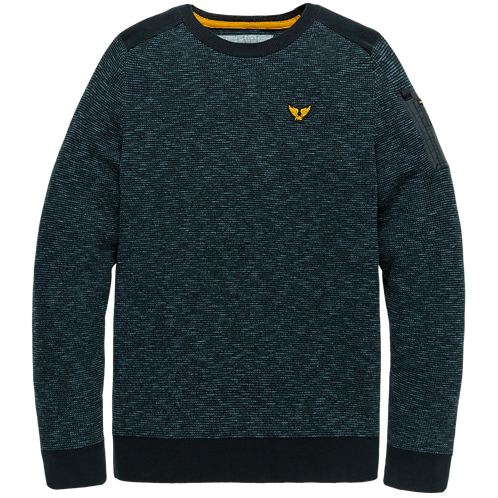 PME Legend | Cotton Mouline Crewneck PKW205305-5288