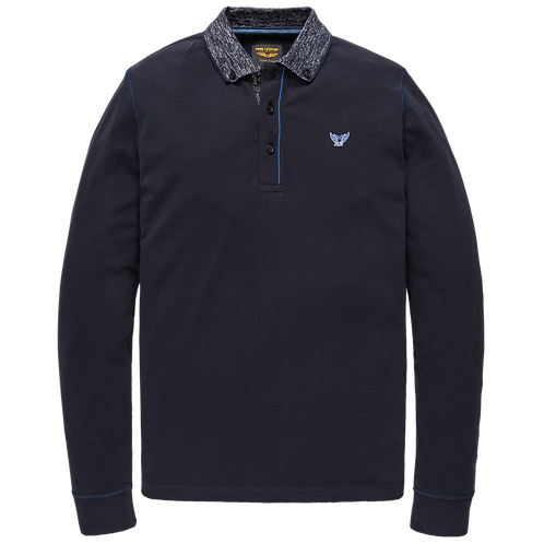 PME Legend | Rugged Pique Long Sleeve Polo PPS208819-5288