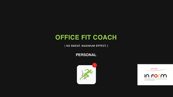 OFFICE FIT COACH - PERSONAL