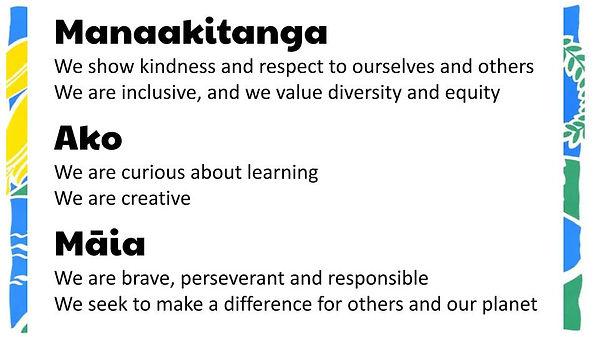School Values