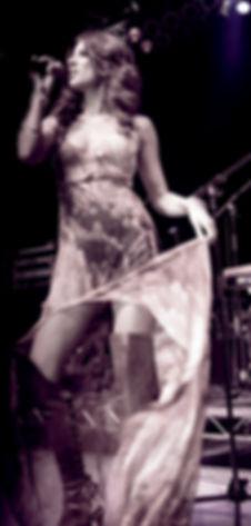 Shana Halligan singing live