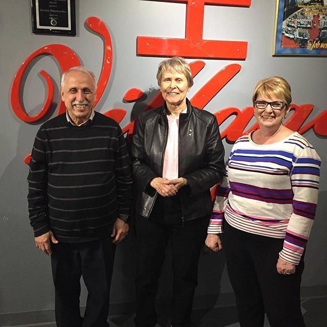 Were you here when Roberta Bondar visited us at Science Village_ Comment and tell us if you were! We