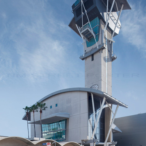LAX Air Traffic Control Tower