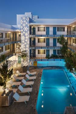 Beverly Laurel Motor Hotel, Los Angeles