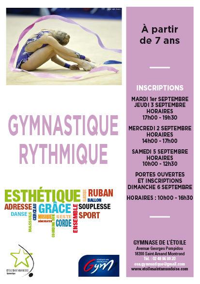 Etoile Saint Amandoise - ESA - Gymnastique Rythmique