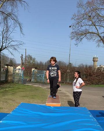 Séance trampoline