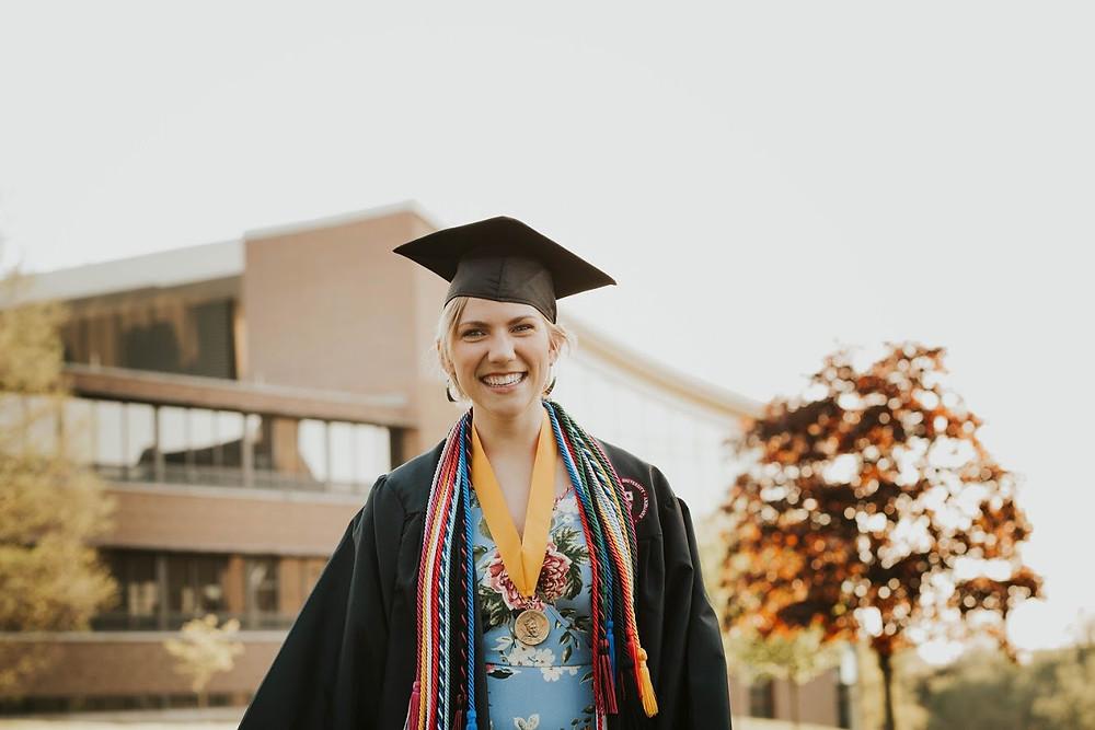 Monica Jackson graduation
