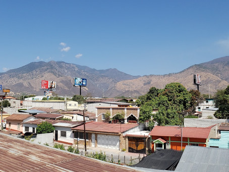 Where I am after experiencing Guatemala...