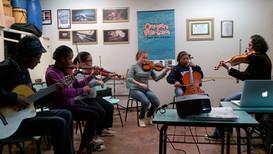 Oficina de improvisação Orquestra Villa-Lobos