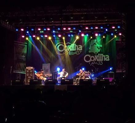Festival da Coxilha, show de abertura com Samuca e Neuro Jr.