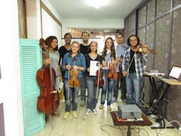 Oficina de cordas em Porto Alegre