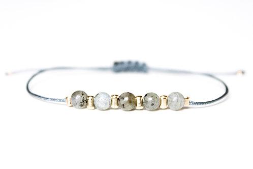 Bracelet BERMUDES Labradorite