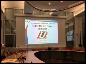 La Ligue Île-de-France du Sport Universitaire est née !