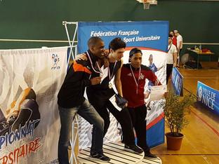 Loloti MAYENGA - Vice-Champion de France