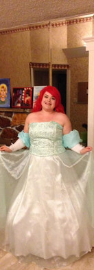 Ariel (ball gown) for a birthday party