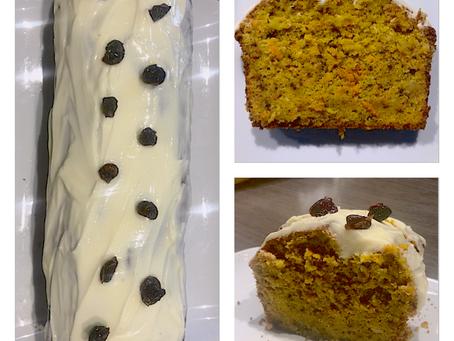 Cake à la carotte (carrot cake)