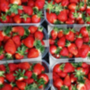 Les 🍓🍓🍓tant attendues 😋 #fraises #fr