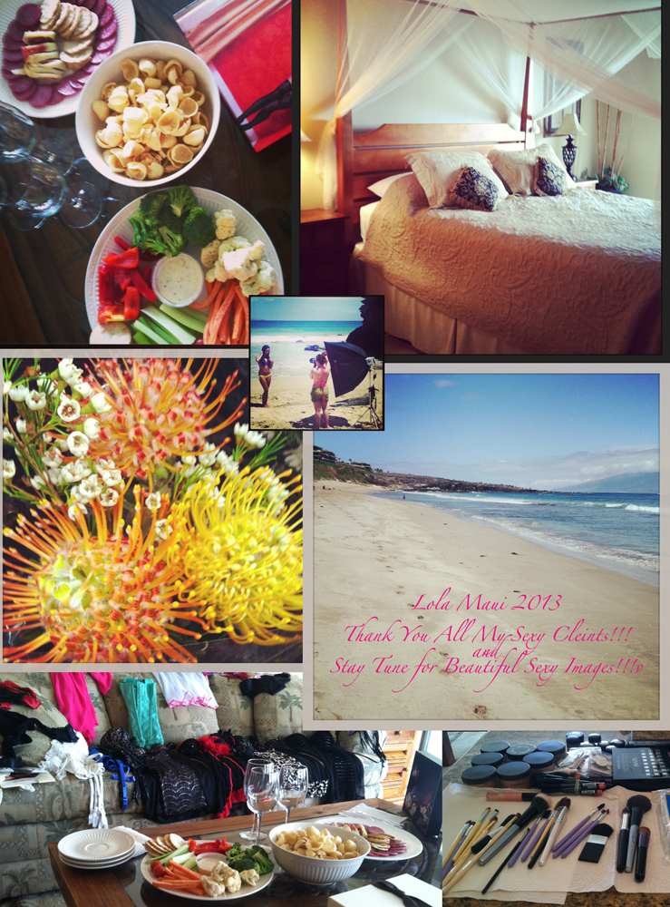 lola boudoir Maui 2013