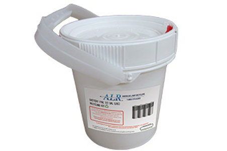 1/2 Gallon Dry Cell Battery Pail Prepaid Recycling Kit
