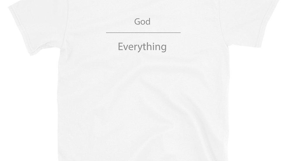 God Over Everything Short-Sleeve Unisex T-Shirt