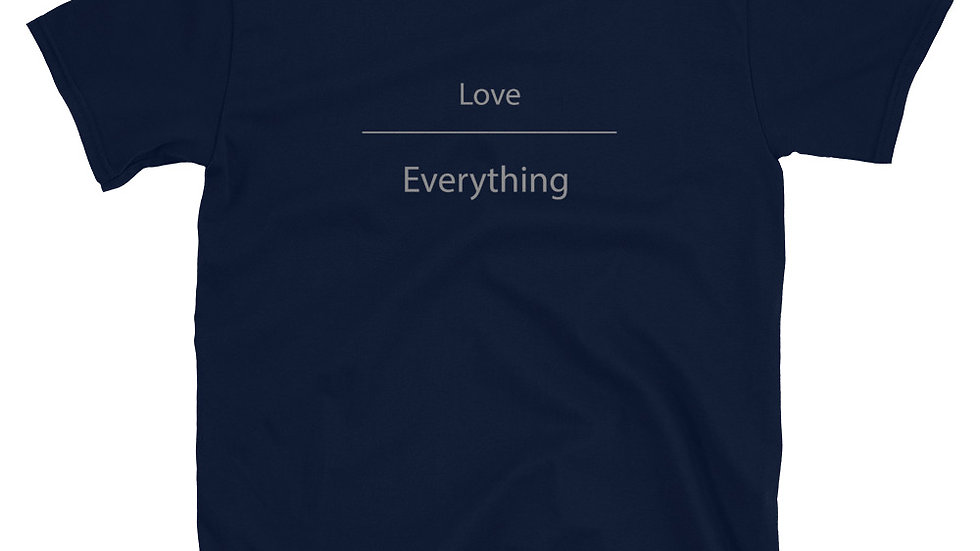 Love Over Everything (Short-Sleeve Unisex T-Shirt)