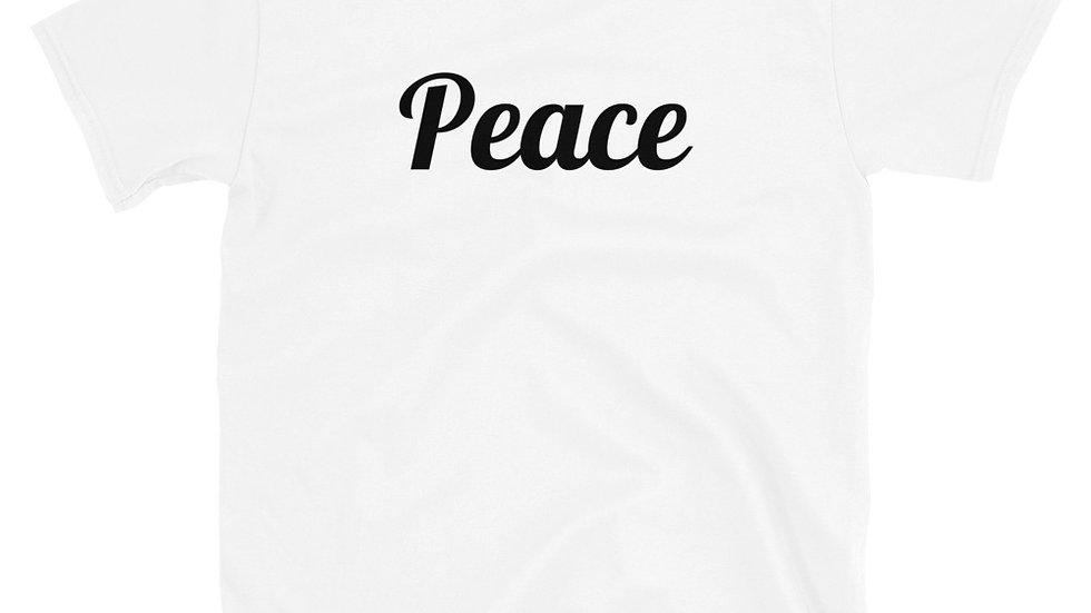 Peace Short-Sleeve Unisex T-Shirt