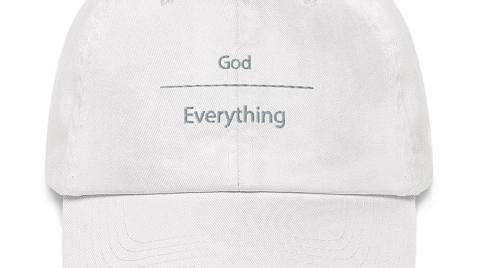 God over Everything Dad hat
