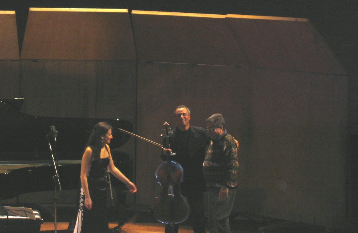 Almeida Prado, Antonio Menezes & Sonia Rubinsky