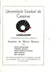 1971 S.R Université de Campinas, Brésil