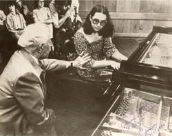 Israel, études avec Arthur Rubinstein